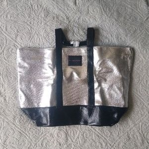 Victoria's Secret Metallic Tote Bag